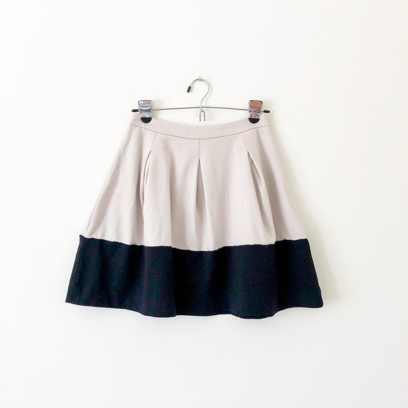 Express Dresses & Skirts - Express Gray and Black Circle Skirt with Pockets